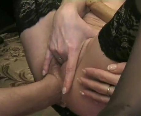 Ass cunt stretched and fisted