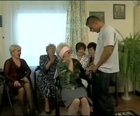 Granny Norma fucks with young man