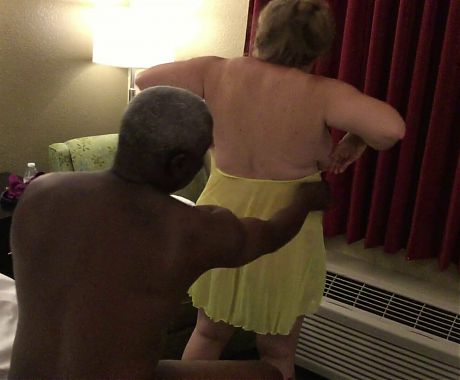 Dirty Debbie - dressing after being fucked