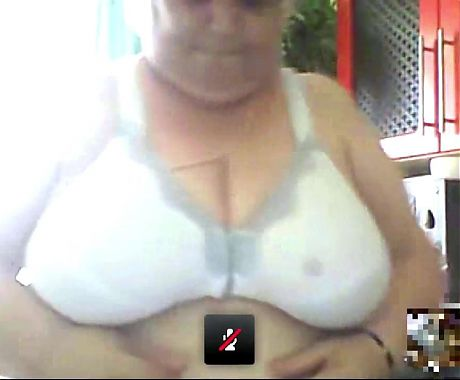 Another busty granny shows