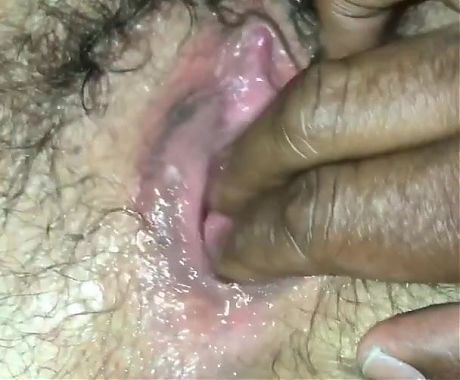 Magic Fingers and Kays Mature Hairy Pussy