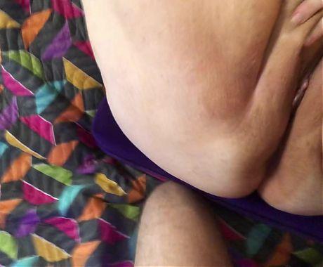 Homemade close-up POV, Mature BBW Granny getting fucked TnD