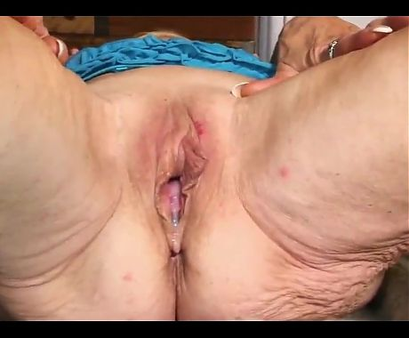 Grannies get creampies
