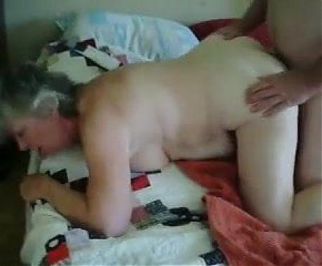 Granny Fucked Doggystyle